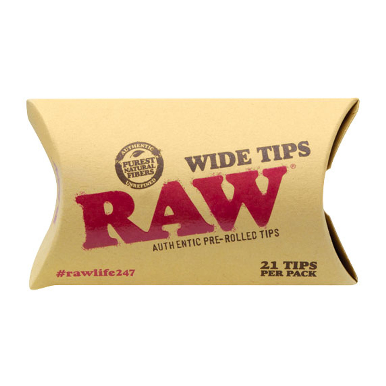 RAW Prerolled Wide Tips