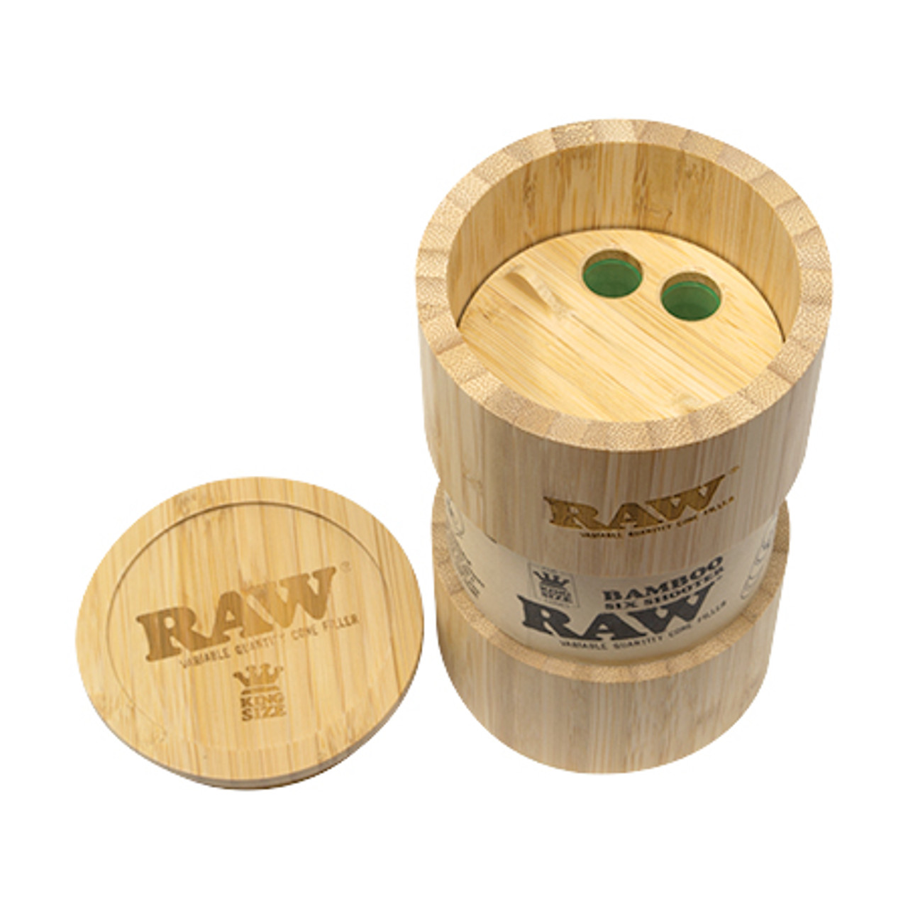 RAW Bamboo Six Shooter Cone Filler King Size
