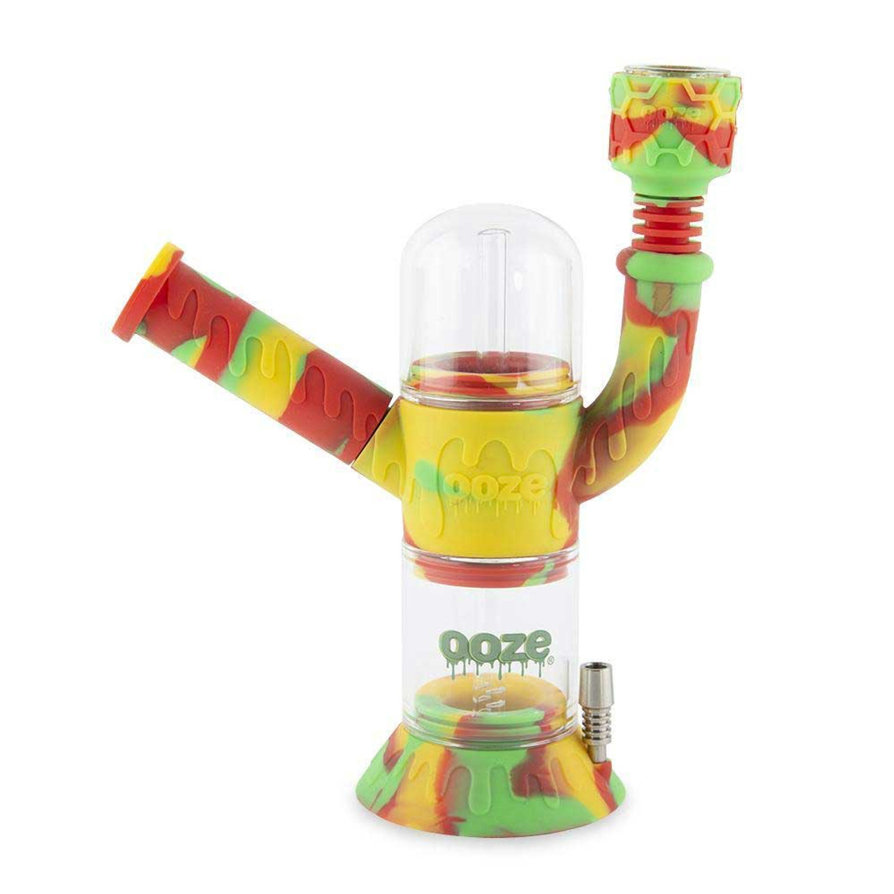 Ooze Cranium Silicone Water Pipe and Nectar Collector