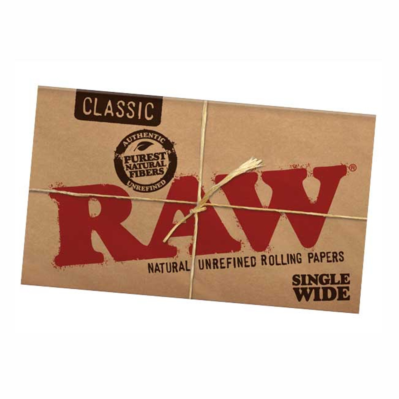 RAW Classic Single Wide Rolling Paper | Double Feed