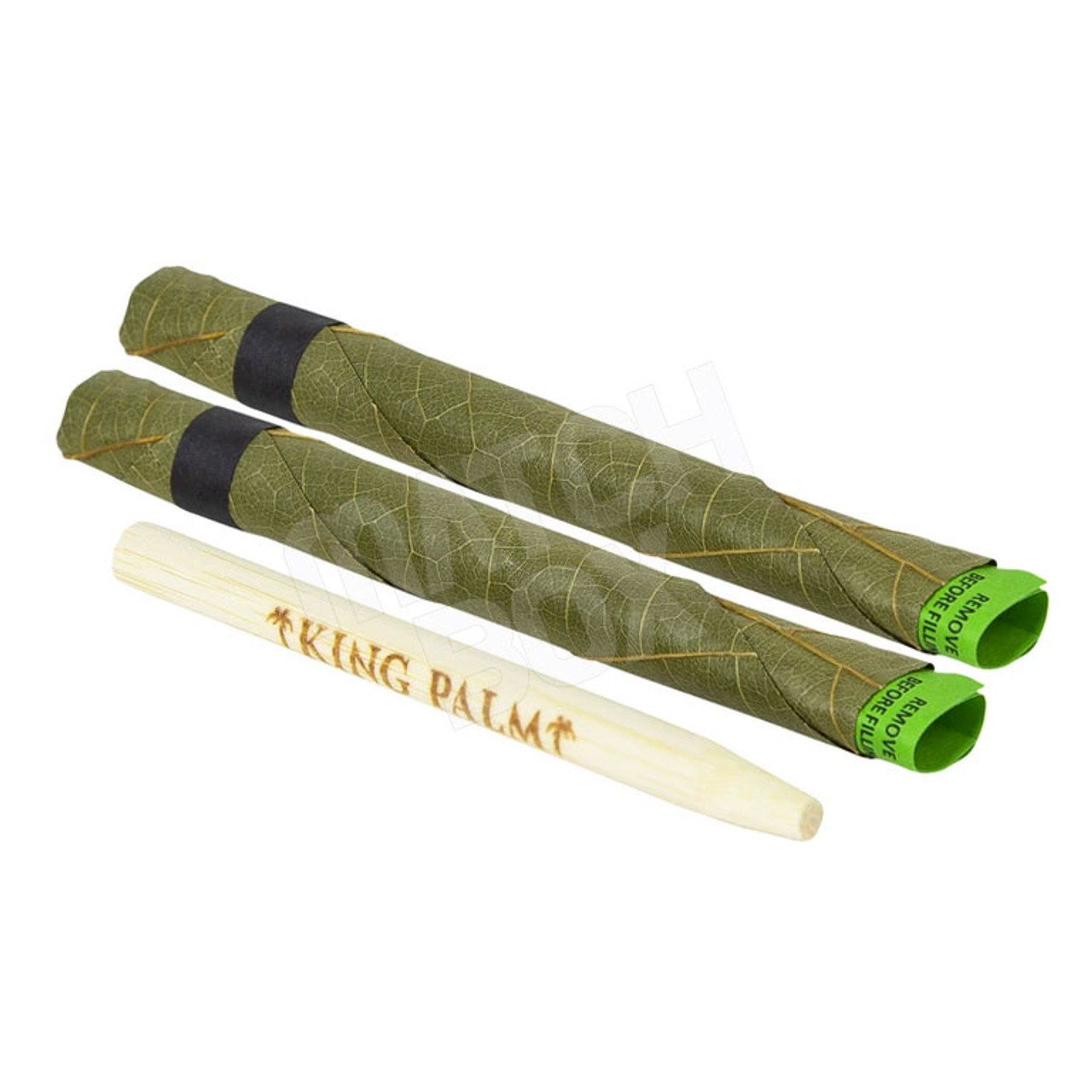 KING PALM 2 ROLLIES OUT OF POUCH