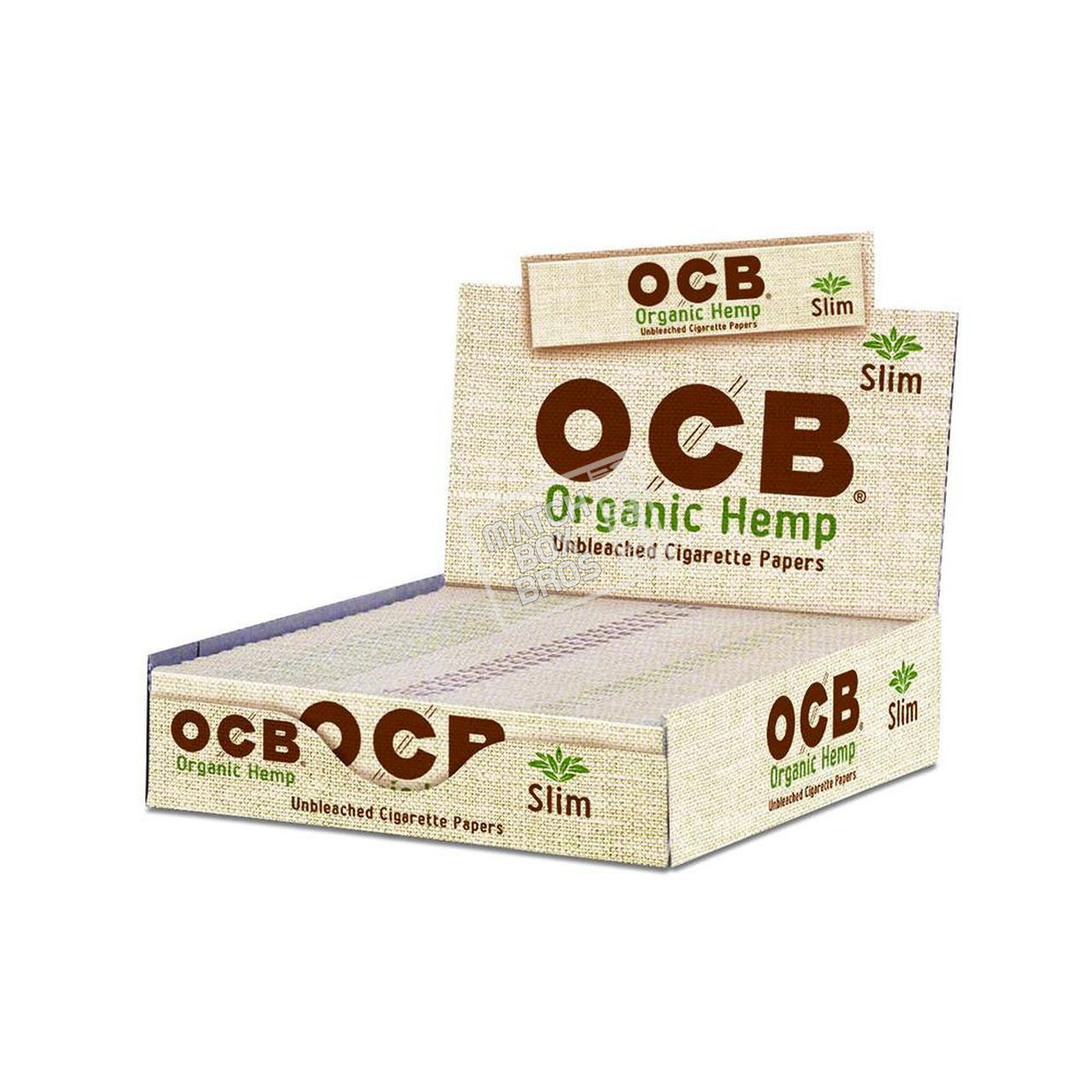 OCB Organic Hemp King Slim Paper