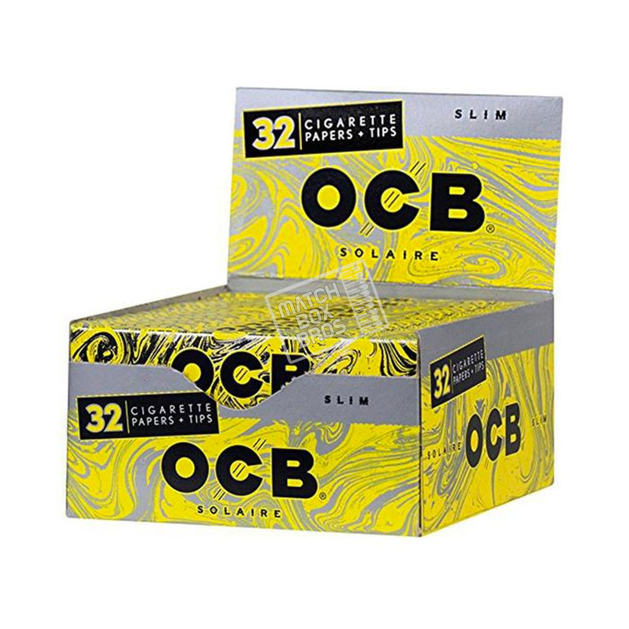 OCB Paper Solaire W/ Tips King Size Slim 32ct