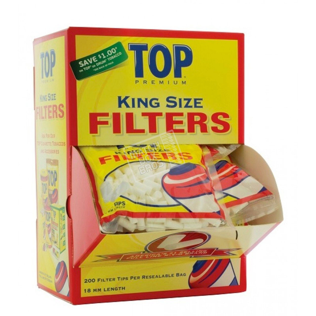 Top Filter Tip King Size (18mm)