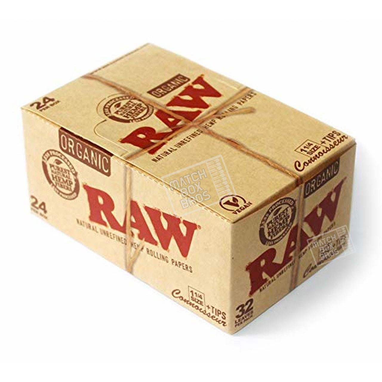 RAW Classic Connoisseur 1¼ Paper + Tips  Box