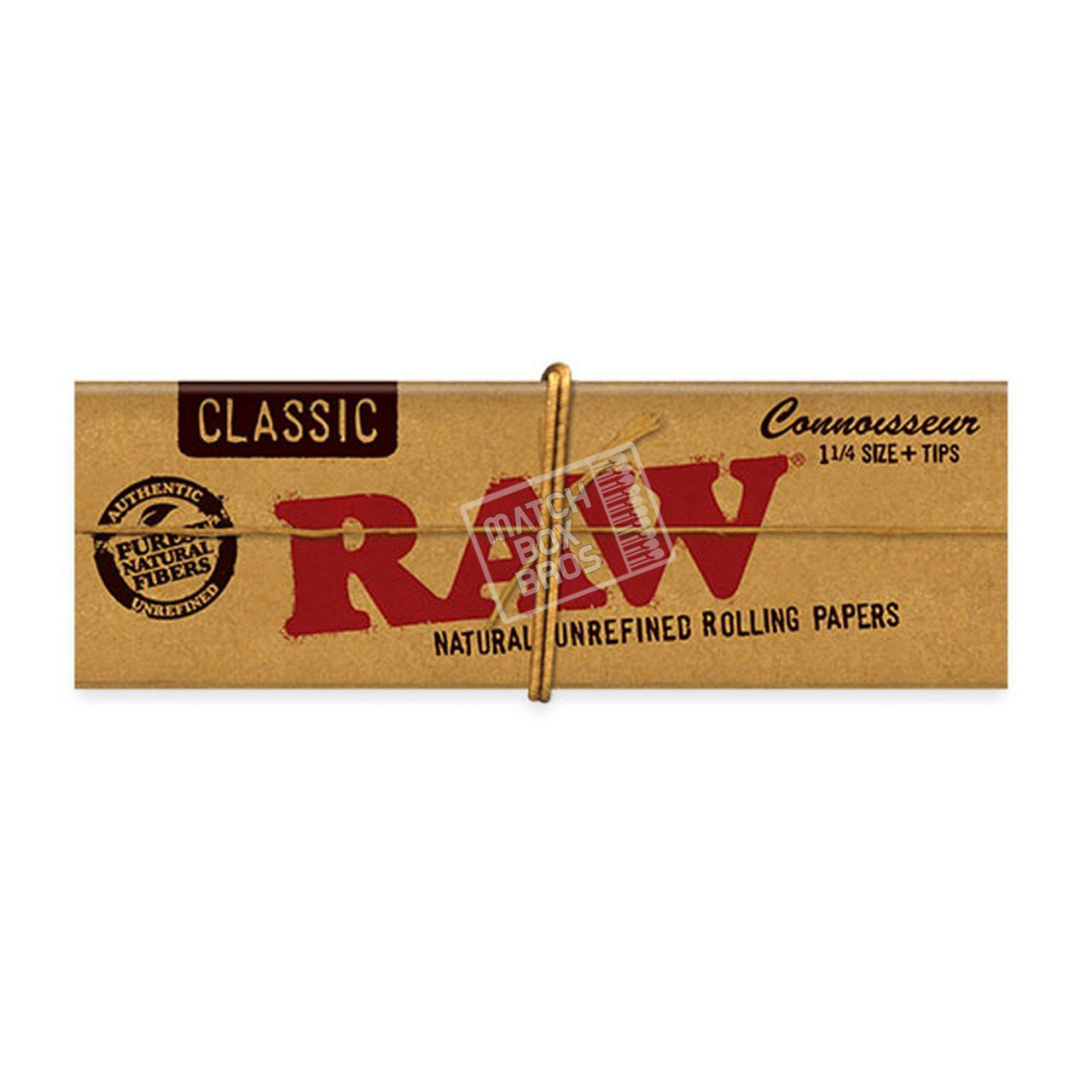 RAW Classic Connoisseur 1¼ Paper + Tips Pack