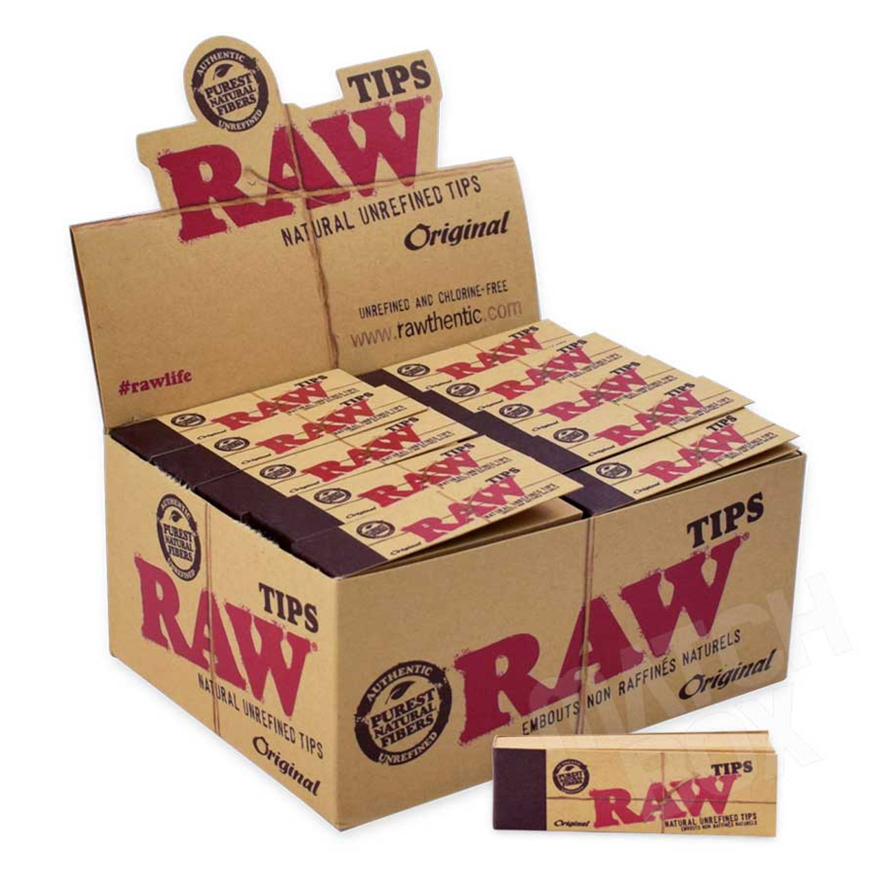 RAW Regular Tips Full Box