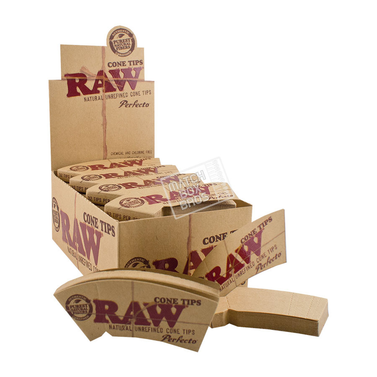 RAW Cone Tip Perfecto Pack Box
