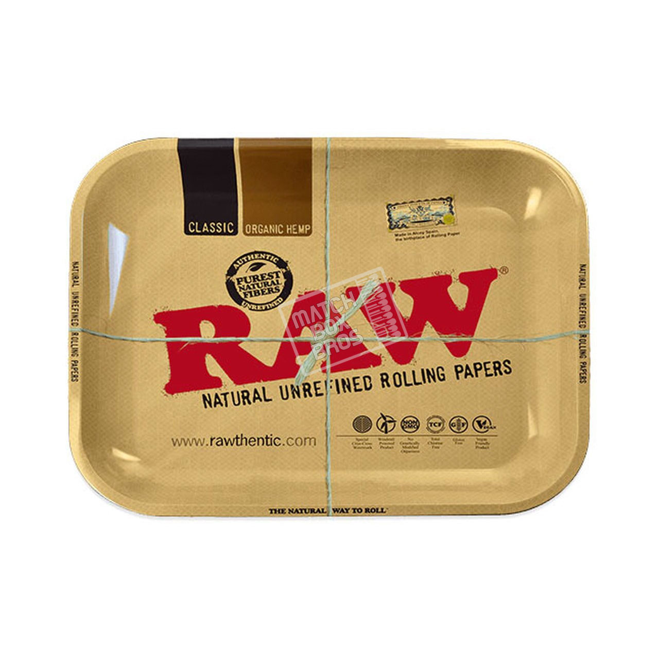 RAW Classic Rolling Tray Large