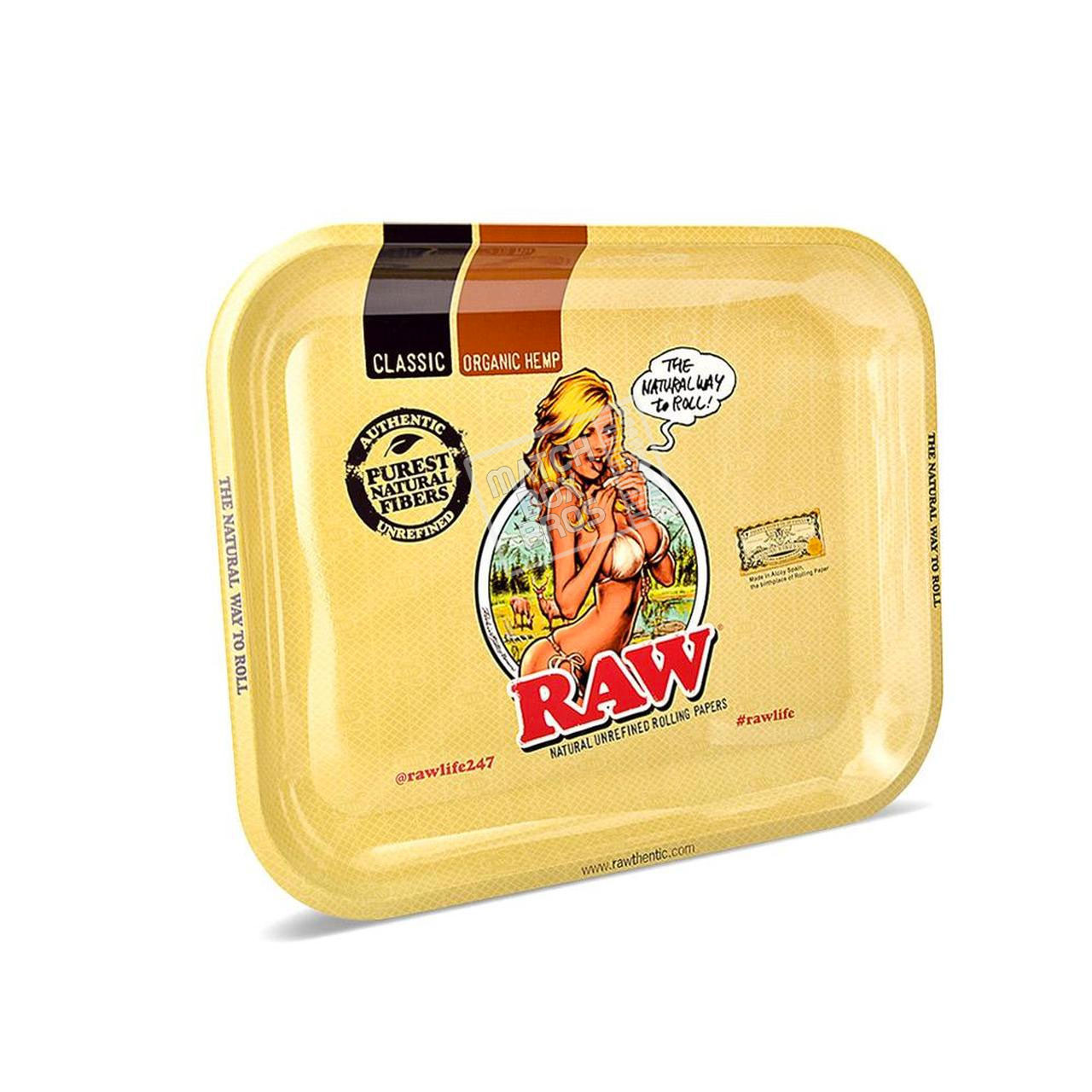 RAW Girl Rolling Tray Large