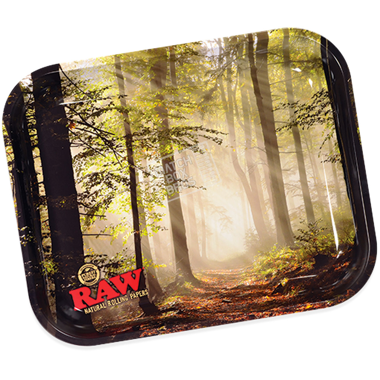 RAW Smokey Forest Rolling Tray Large