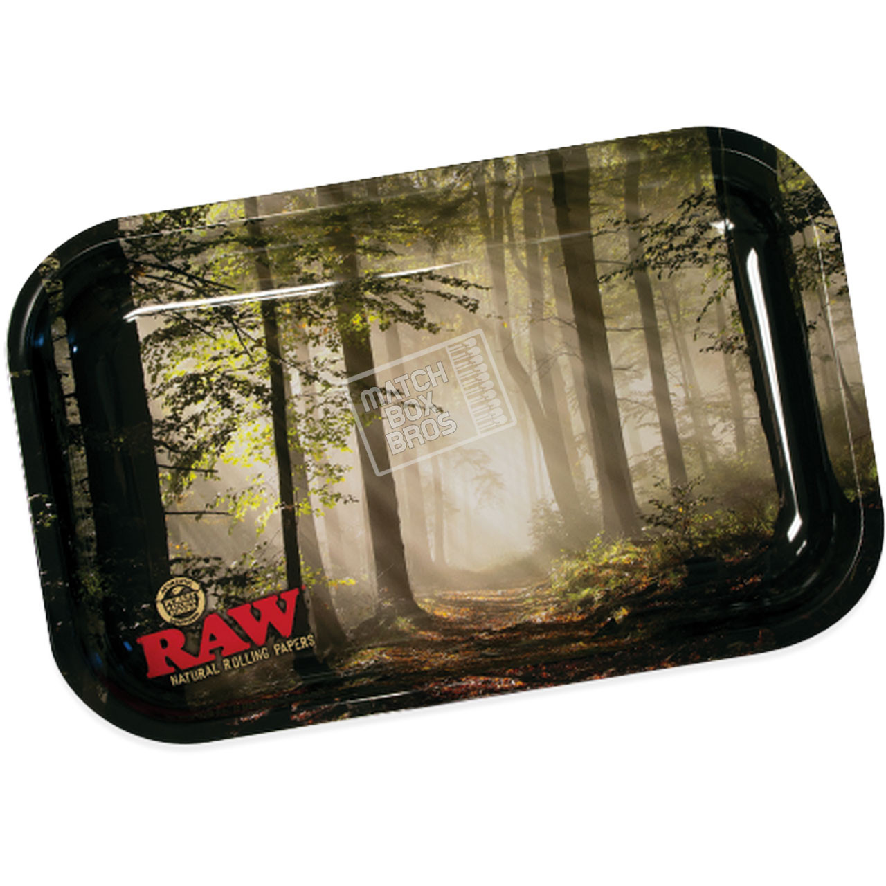 RAW Smokey Forest Rolling Tray Small