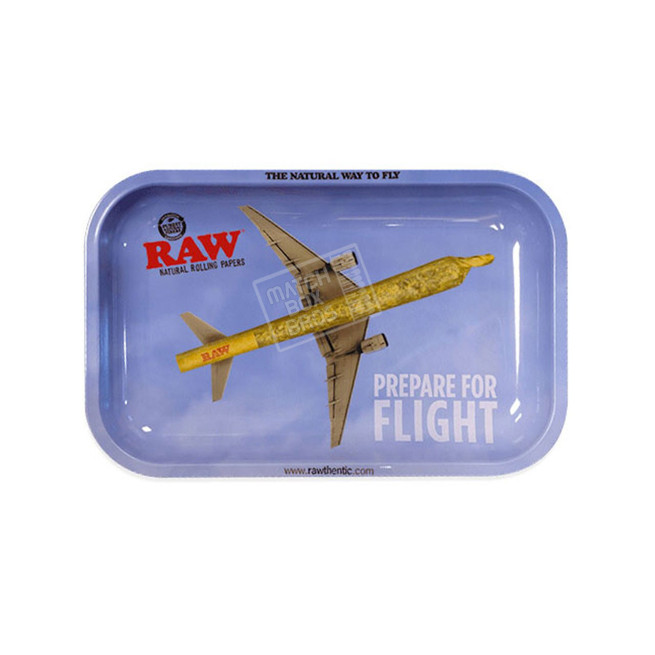 RAW Tray Prepare for Flight Small