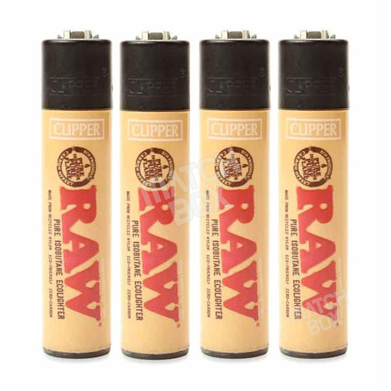 Clipper Lighter Raw Regular 4 piece bundle