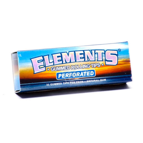 Elements Gummed Tips Perforated Single Pack