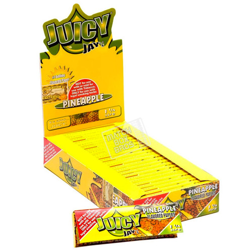 Juicy Jay's 1¼ Pineapple Flavoured Paper