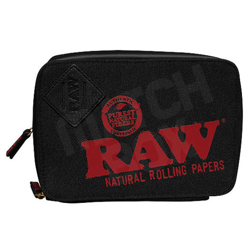 TrappKit Black Stash Bag Closed Front