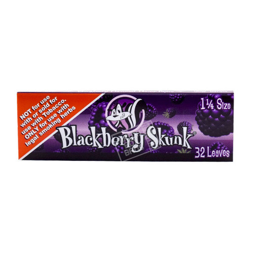 Skunk Brand Hemp Blackberry 1/4 Rolling Paper