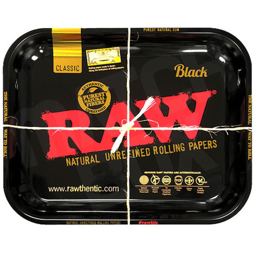 RAW BLACK TRAY LARGE