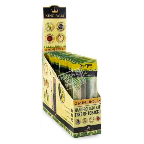 King Palm 2 Mini Rolls Full Box