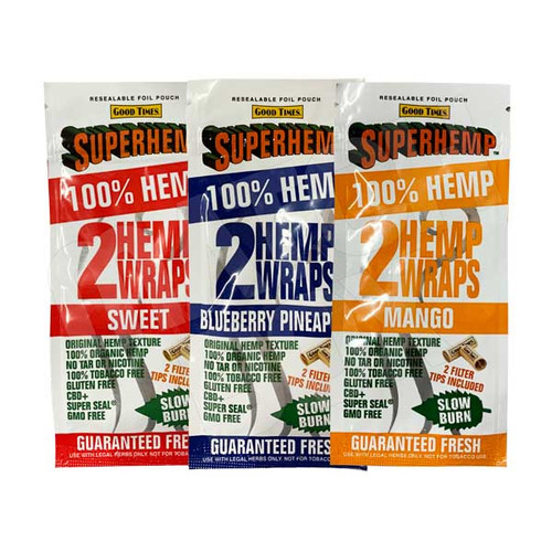 Good Times SuperHemp Wraps