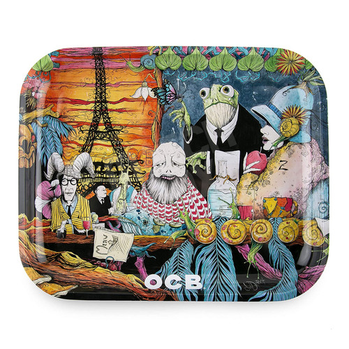 OCB Cafe Culture Rolling Tray