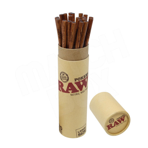 RAW Large Wooden Poker