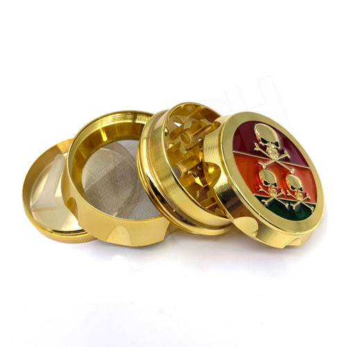 Gold Skull 50mm Basic Grinder