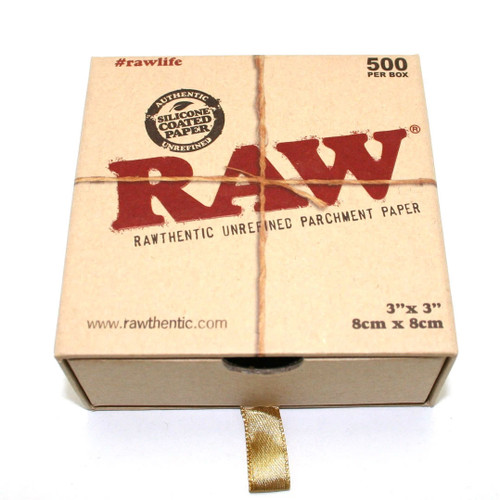 RAW brand parchment square angled