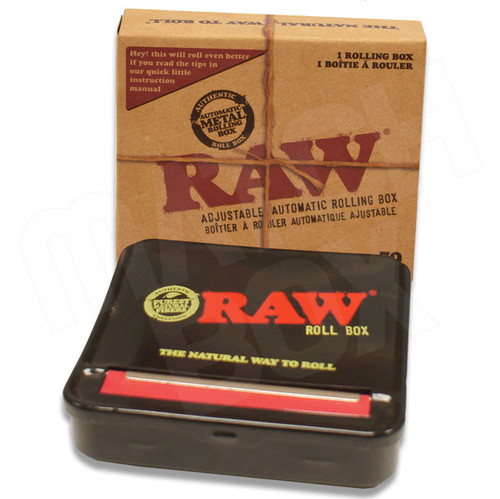 RAW 79mm Automatic Rolling Box Black