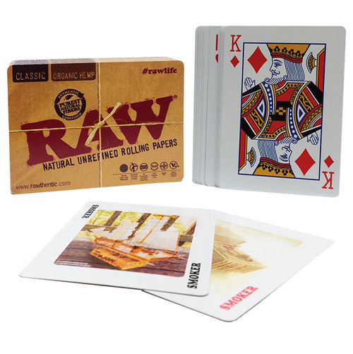 RAW Playing Card