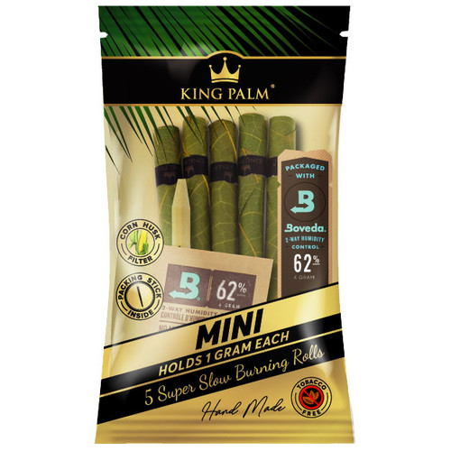 King Palm 5 Mini Rolls Single Pack