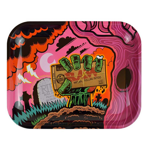 RAW Zombie Large Rolling Tray