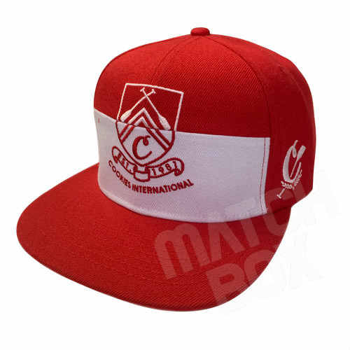 Cookies International Red Snapback