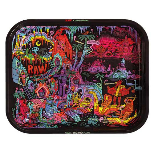 RAW Artist Series Rolling Tray Ghost Shrimp V2
