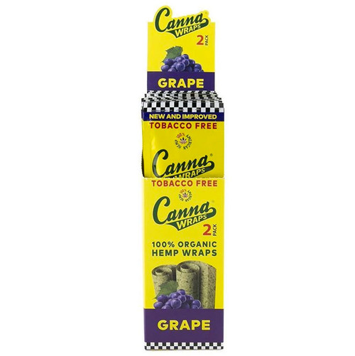 Canna Wraps Hemp Wrap Grape