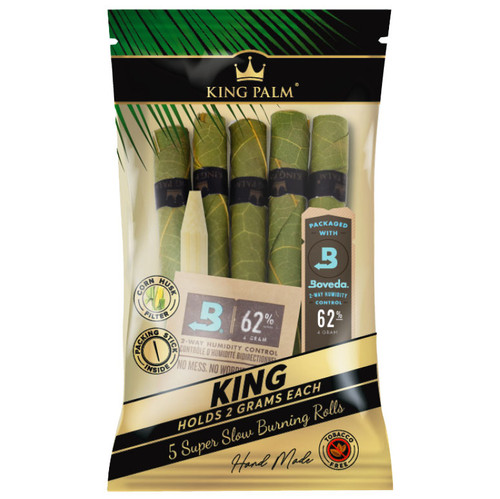 KING PALM 5 KING ROLLS SINGLE PACK