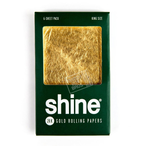 Shine 24k King Size 6-Sheet Pack