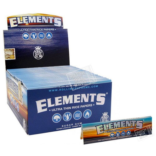 Elements King Size Ultra Thin Paper
