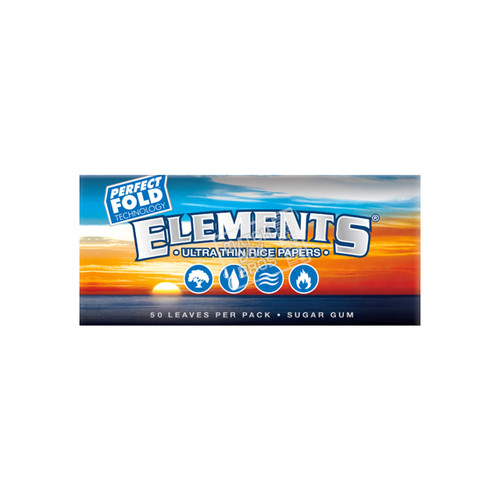 Elements 1¼ Perfect Fold Ultra Thin Rice Paper Single Pack