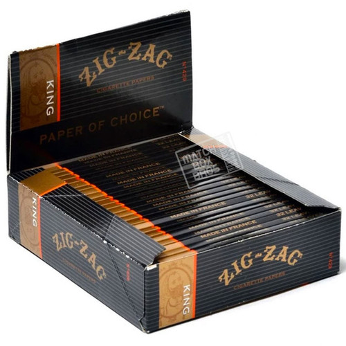 Zig Zag King Size Rolling Papers Box