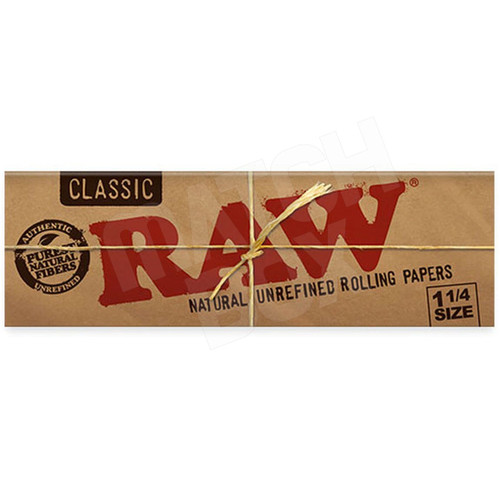 RAW Classic 1¼ Rolling Paper Sealed Box