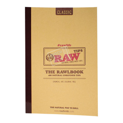 RAW Rawlbook of Tips front