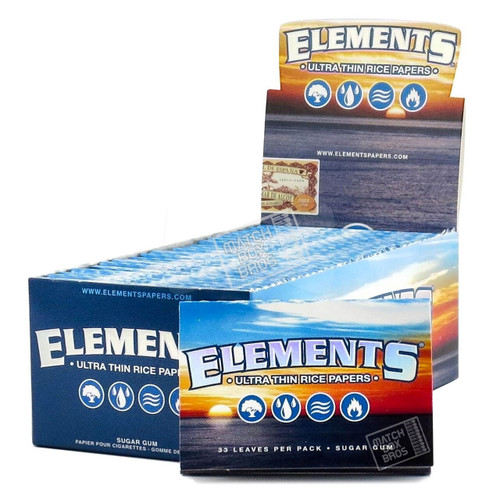 Elements 1½ Ultra Thin Rice Paper Full Box