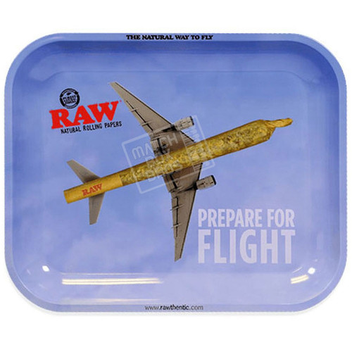 RAW Tray Prepare for Flight LARGE
