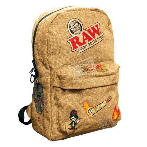 RAW Burlap Backpack - RAW'D Out Edition