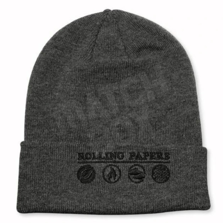 Rolling Papers Grey Beanie