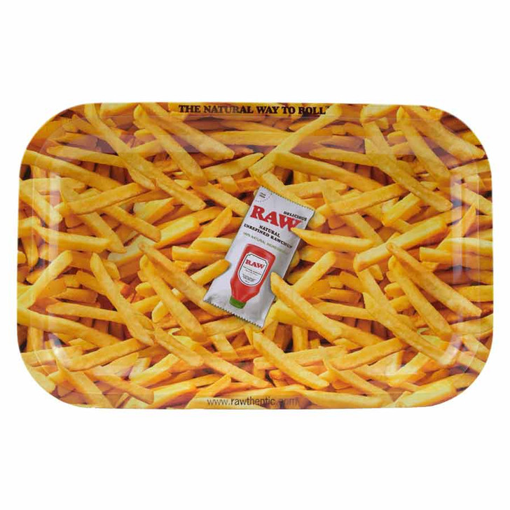 RAW French Fries Rolling Tray