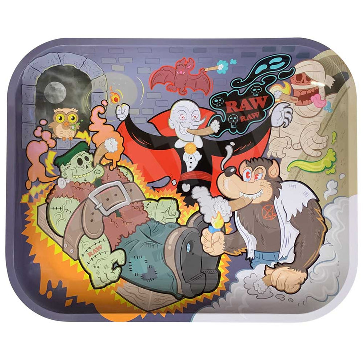 RAW Monster Sesh Limited Edition Rolling Tray