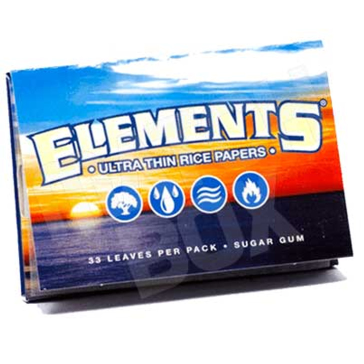Elements 1½ Ultra Thin Rice Paper Single Pack